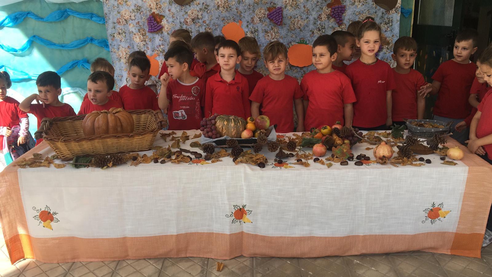 Festa d'autunno scuola dell'infanzia